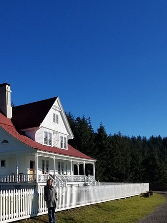 Heceta Head Lighthouse Bed and Breakfast: The private inn nearby