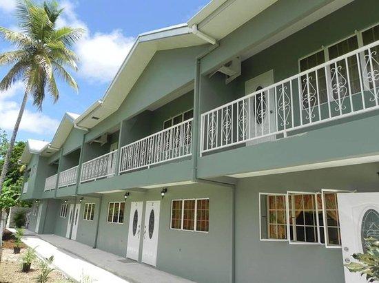 Bon Accord, Tobago: Exterior of Imperial Suites