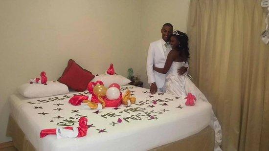 Bon Accord, Tobago: Wedding celebration