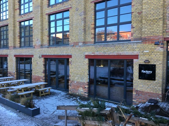 The Factory Kitchen Exterior