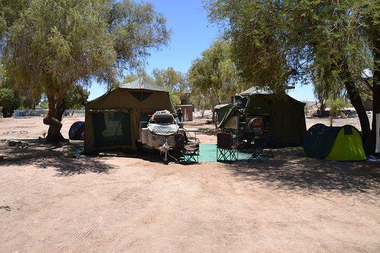 Fish River Canyon, Namibia: Campsite