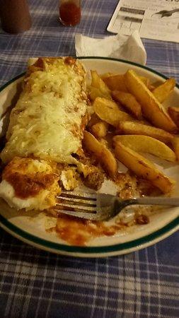 Northfield Cafe : good scran for dinner
