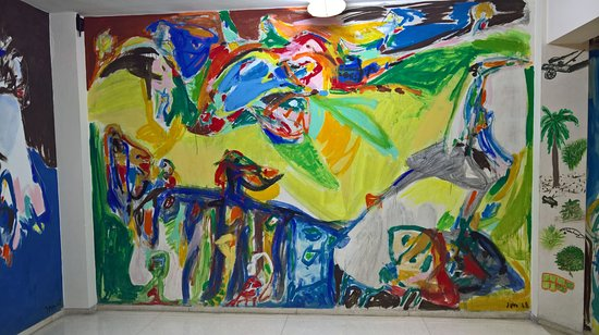 ‪Cubas Historiske Arkiv Asger Jorn paintings‬