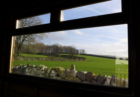 Austwick, UK : The view from the pot washing area!