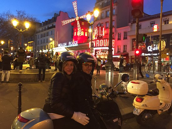 Paris by Scooter Photo