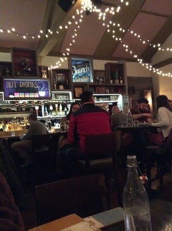 AGAVA Restaurant: seated opposite the bar