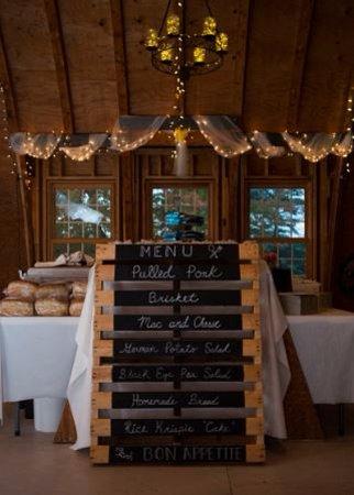 On Eagle's Wings Inn : Buffet area