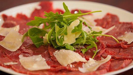 Via Pasto: Carpaccio alla parmigiana