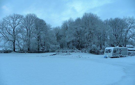 Austwick, UK: A Winter wonderland