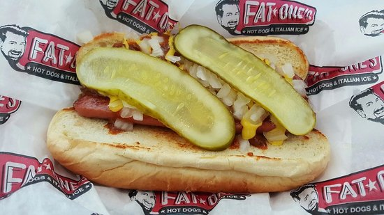 fat one s hot dogs italian ice orlando restaurant reviews phone number photos tripadvisor