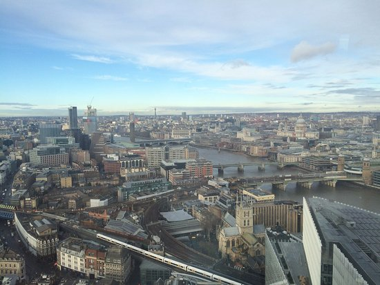 View From The 32nd Floor Picture Of Aqua Shard London Tripadvisor