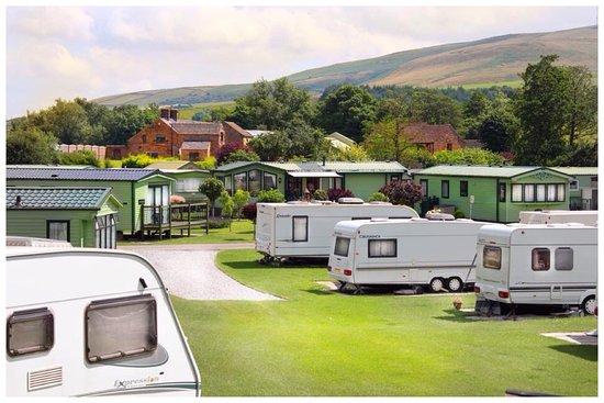 Hope, UK: Seasonal & Statics, Laneside Caravan Park