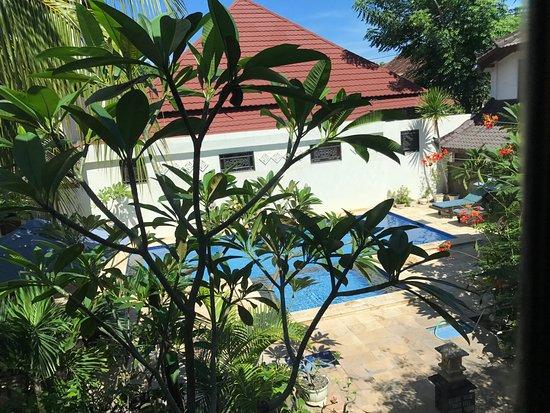 Martas Hotel: 楼下就是游泳池