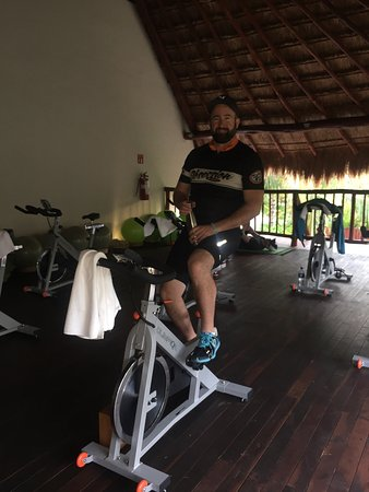 Gym Spa Spin Room Picture Of Akumal Bay Beach