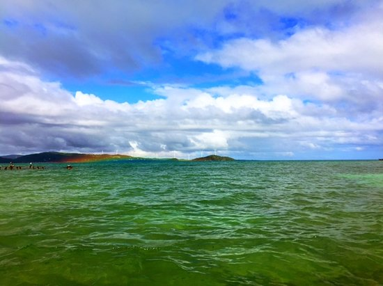 Barefoot Travelers Kayak Tour to Monkey Island: The rainbows that pop up are incredible!