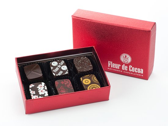 Los Gatos, CA: We hand craft our chocolates using the best French chocolate available.