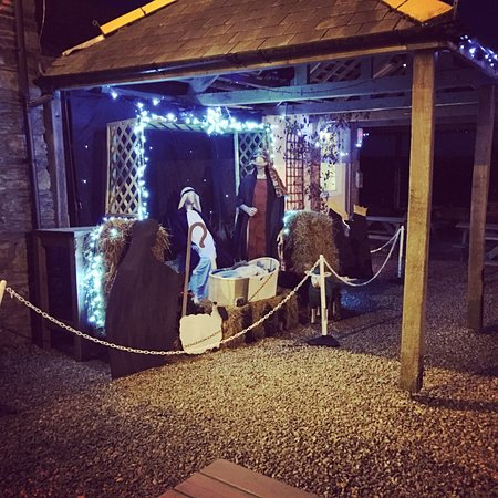 Crafthole, UK: Annual Charity Nativity Scene