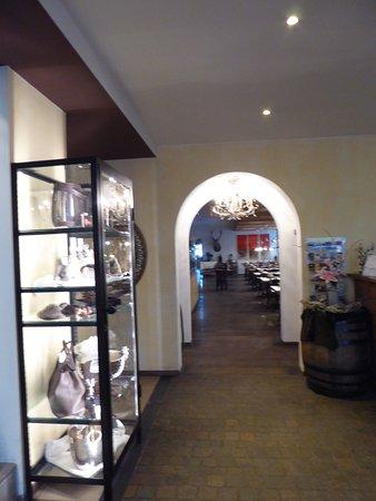 Hotel Piz St. Moritz: Le hall, spacieux