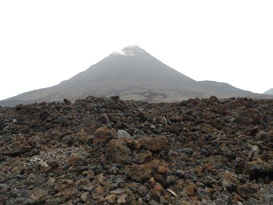 Pico Do Fogo: Vue sur le cratère du volcan