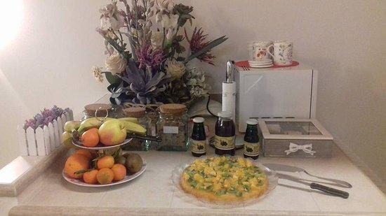 Castagnole, Italy: Prima colazione