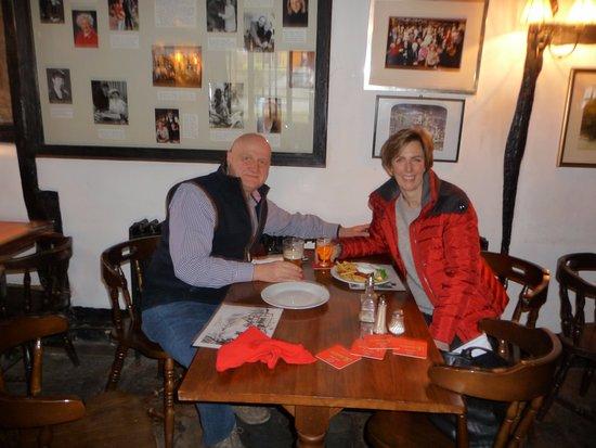 Inkberrow, UK: The renowned'Archers' pub.....