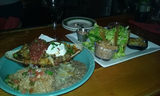 Saco, ME: Enchilada & Fish Taco