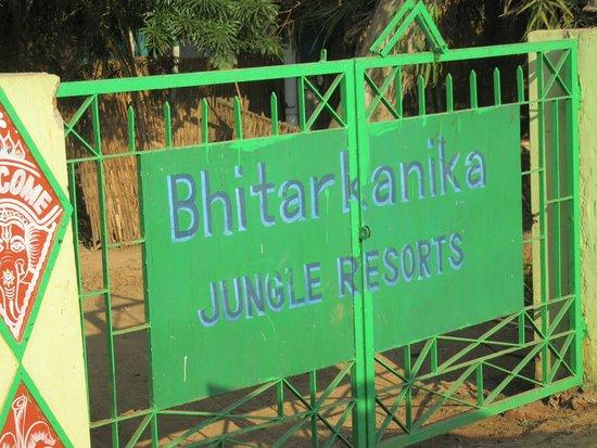 Sand Pebbles Bhitarkanika Jungle Resorts : The entrance