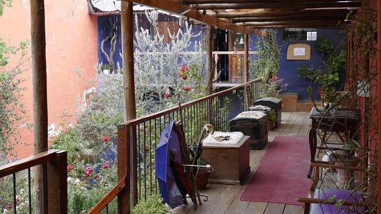 Casa Panqarani: Balkon