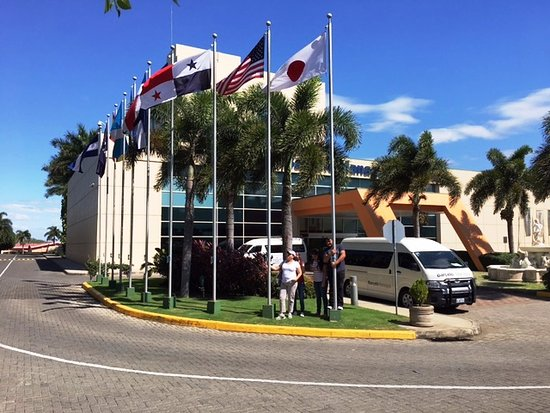 Barcelo Managua: Ingreso