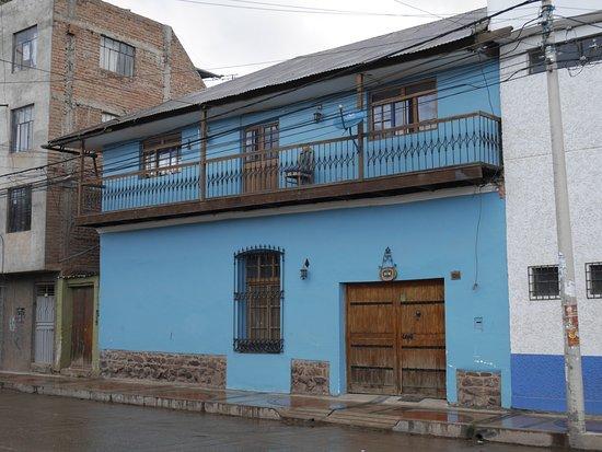 Casa Panqarani: Eingang von der Strasse