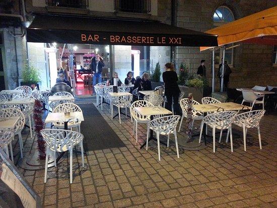 bar brasserie le 21 eme quimper restaurant avis num ro. Black Bedroom Furniture Sets. Home Design Ideas