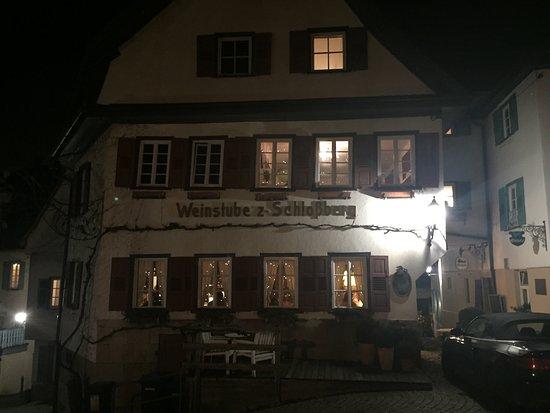 Nürtingen, Tyskland: Weinstube zum Schlossberg