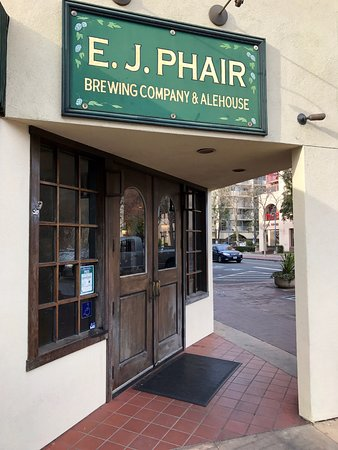 E.J. Phair: on the corner at the town square & park