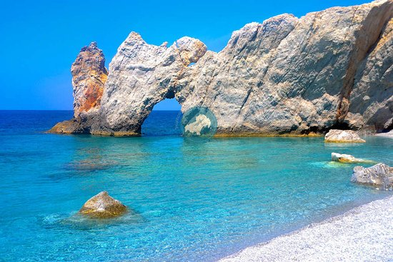 Skiathos Town, Greece: Lalaria beach