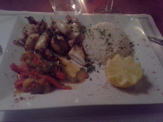 Restaurant Etche Ona : Calamar
