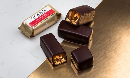 Fran's Chocolates: Fran's Almond Gold Bars