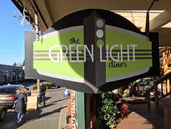 Poulsbo, WA: Signage on exterior
