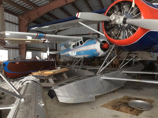 Greenville, ME: Currier Aviation Museum