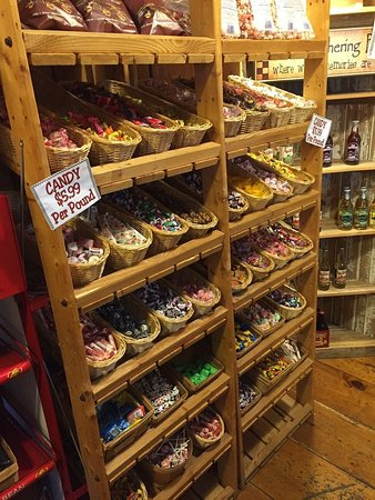 Donegal, PA: Candy in the general store next door (attached)