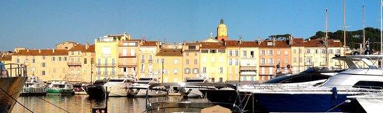Vue Panoramique Du Port De Saint Tropez Picture Of St Tropez