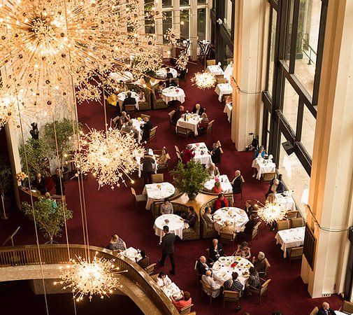 The Grand Tier Restaurant: Grand view from above