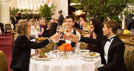 The Grand Tier Restaurant: Celebration