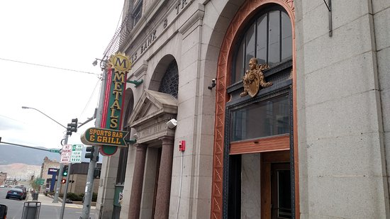 Butte, MT: Metals was a bank, now a restaurant