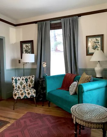 "Alexander Hamilton House: The updated Library Suite, now available on airbnb as ""The Hamilton Library at the Doctor's Hous"