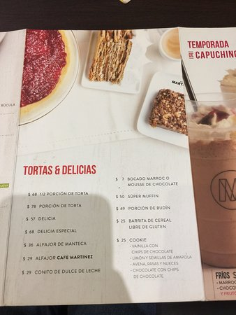 Cafe Martinez La Plata Diagonal 74 No 1488 Fotos