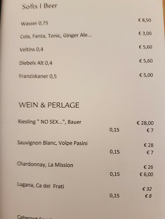 INNSIDE by Melia Dusseldorf Seestern: No sex Riesling for €28? No thanks!