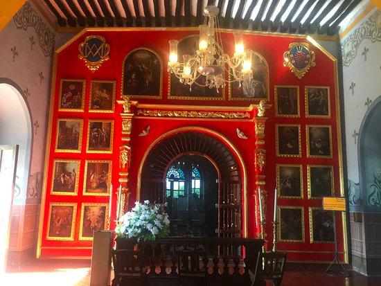 Izamal, Mexique : Interior del convento