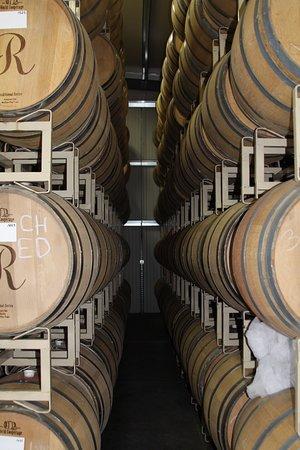 Plymouth, Califórnia: Barrel room