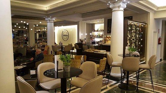 Restaurante restaurante tablafina en madrid con cocina - Hotel mediterranea madrid ...