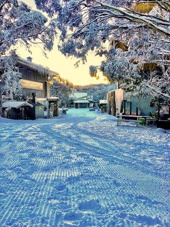 Mount Buller, Australia: Snowy village stroll
